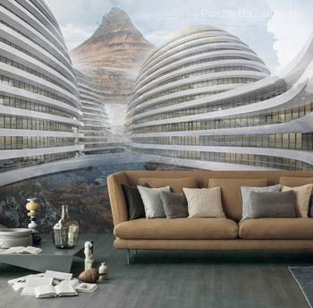 Фотообои Архитектура будущего